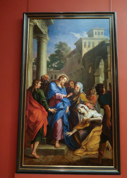 Le Christ et L'hémorroïsse