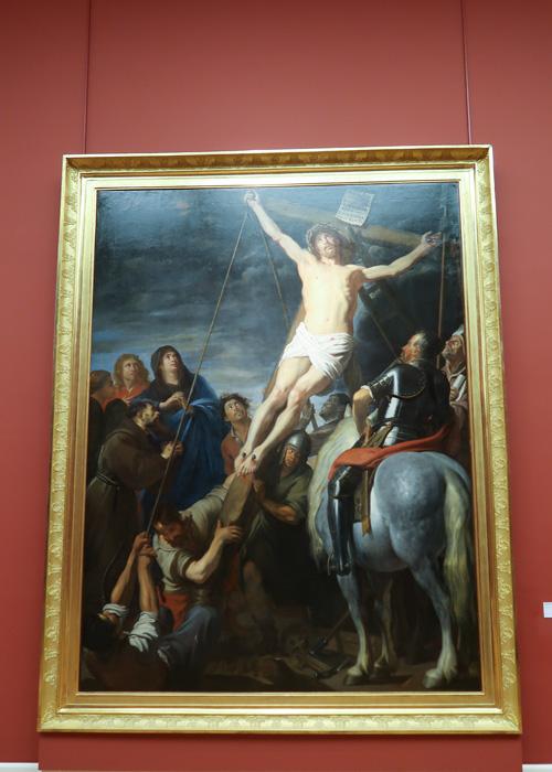L'Erection de la croix