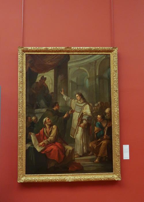 La prédication de Saint Etienne