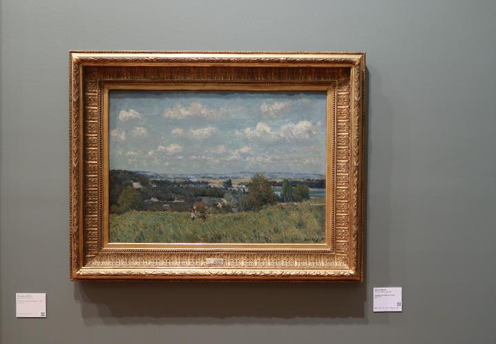 Paysage de la vallée de la Seine