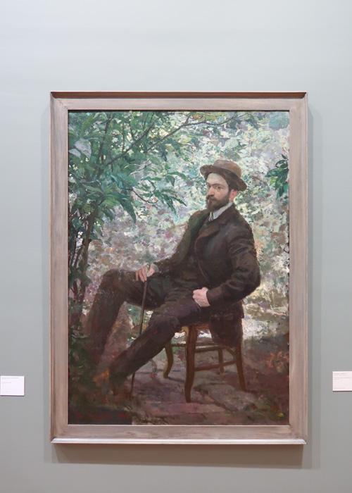 Portrait du peintre Max Meldrum