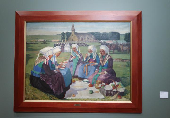 Femmes de Plougastel au pardon de Sainte-Anne-la-Palud