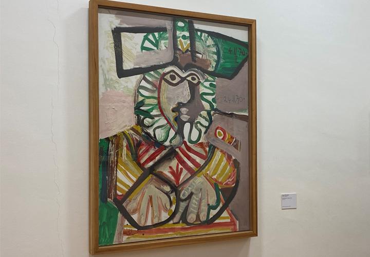 Musée des Beaux-Arts Rennes Buste d'homme au chapeau (1970)
