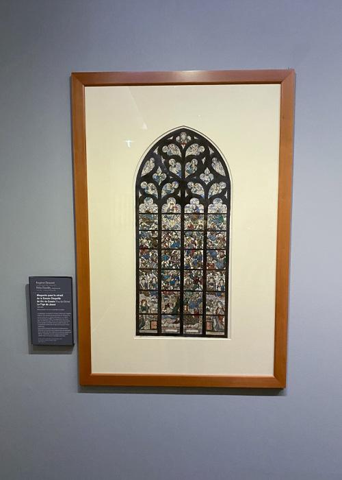 La Tige de Jessé. Maquette pour le vitrail de la Sainte-Chapelle de Vic-le-Comte (Puy-de-Dôme)