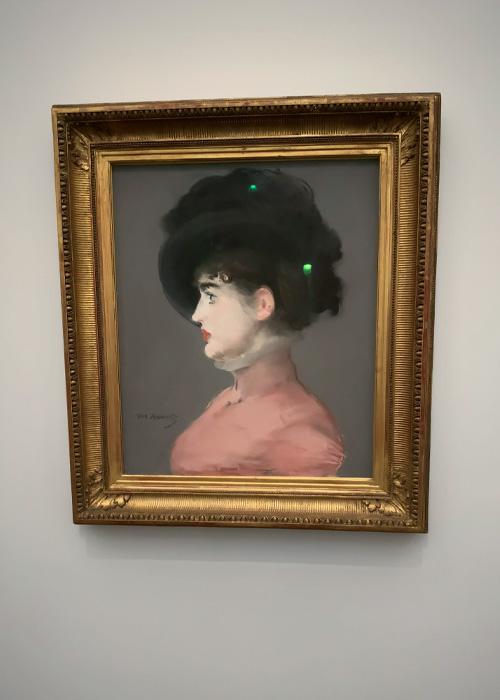 Portrait d'Irma Brunner