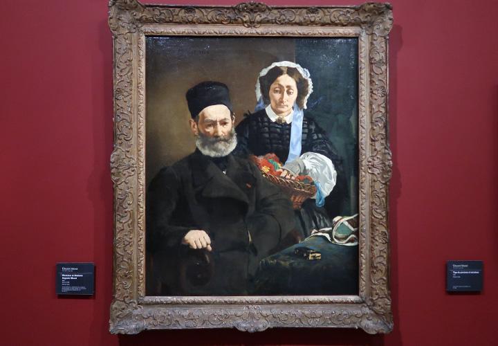 Monsieur et Madame Auguste Manet