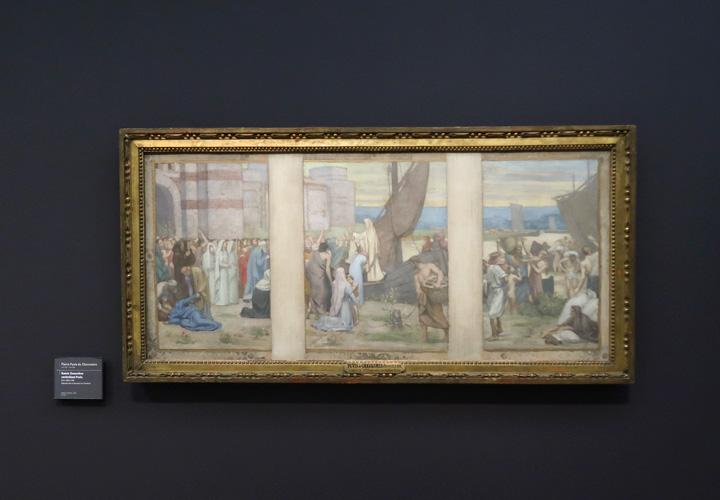 Sainte Geneviève ravitaillant Paris