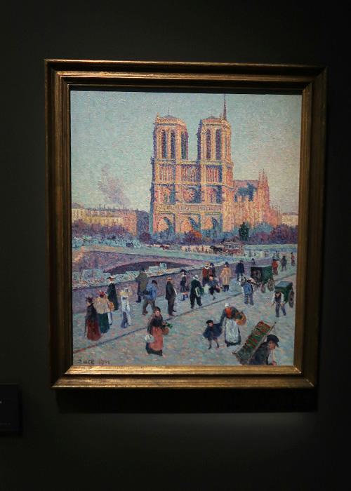 Le quai Saint-Michel et Notre-Dame