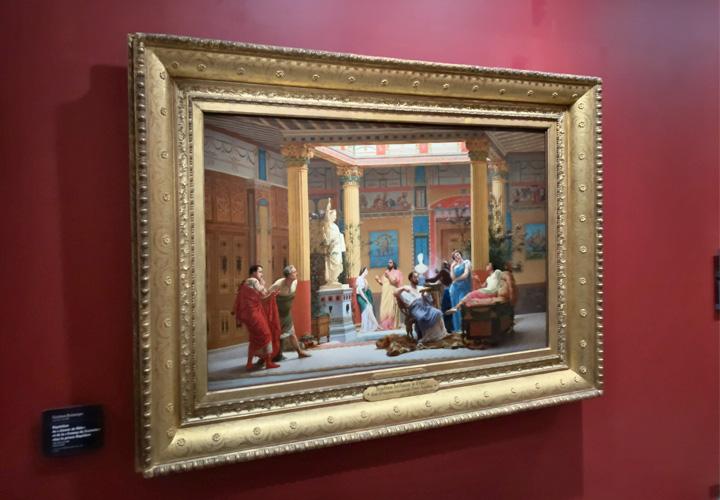 """Répétition du """"Joueur de flûte"""" et de la """"Femme de Diomède"""" chez le prince Napoléon"""