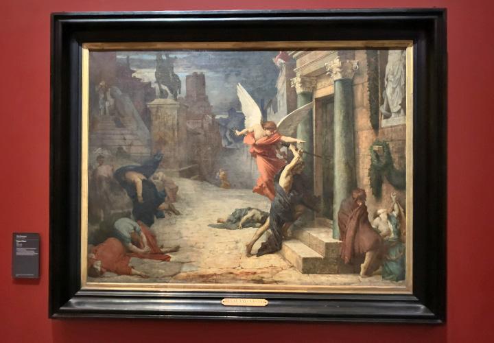 Peste à Rome