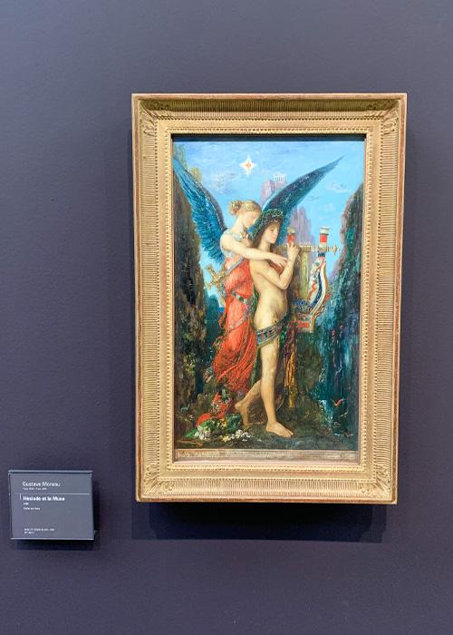 Hésiode et la Muse