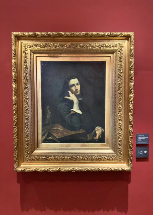 L'homme à la ceinture de cuir. Portrait de l'artiste
