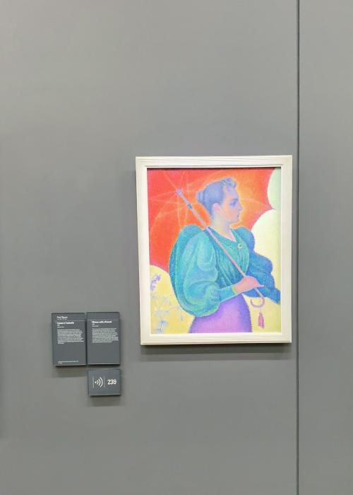 Femme à l'ombrelle (Opus 243, Effigie)