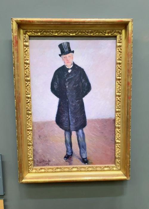 Portrait de Jean Daurelle en pied