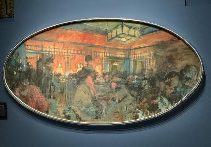Intérieur du salon de thé Le Grand Teddy