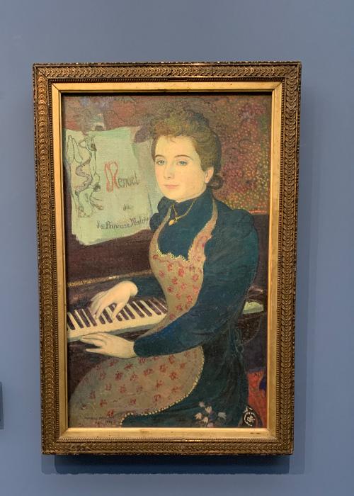 Le menuet de la Princesse Maleine ou Marthe au piano