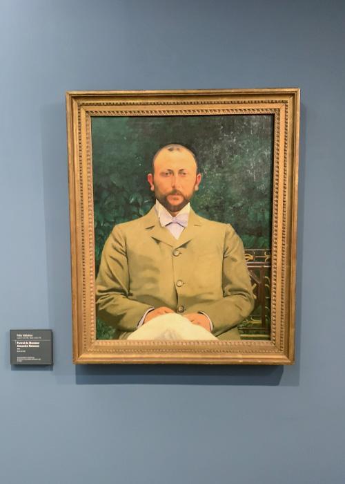 Portrait de Monsieur Alexandre Natanson