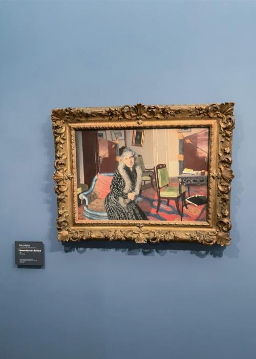 Henriette Bernheim, belle-mère de l'artiste