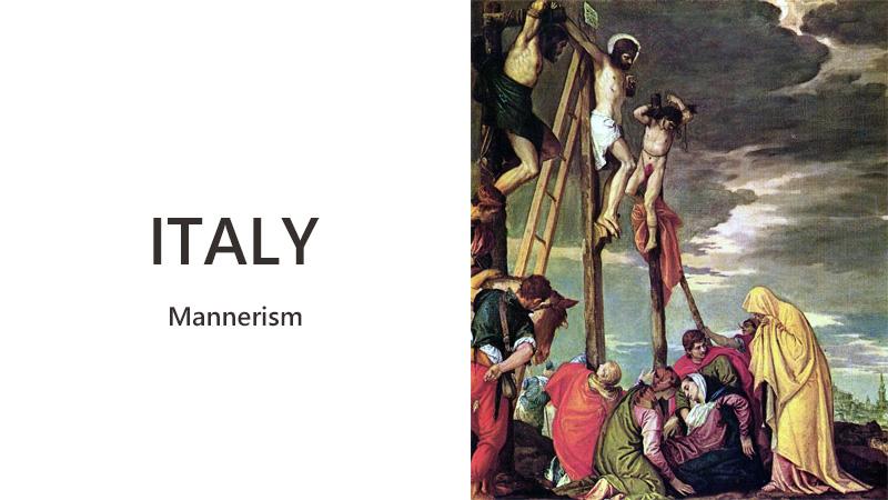 マニエリスム イタリア