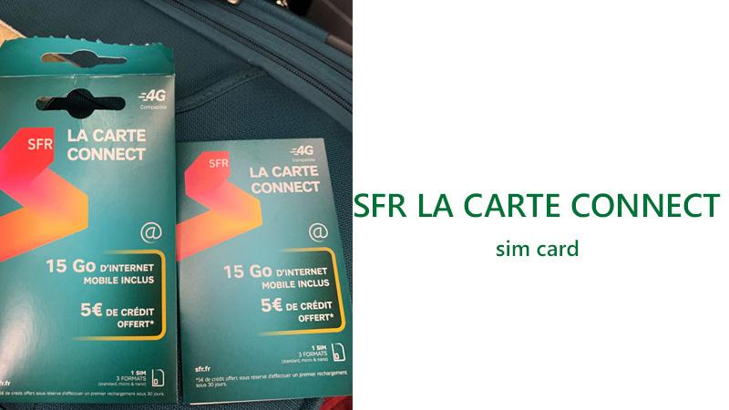 SFR-LA-CARTE-CONNECT france sim card