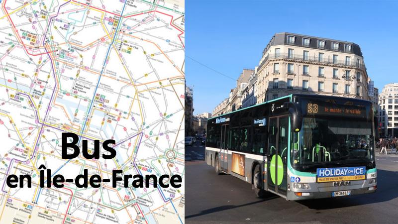 paris bus Line52 to Line 59