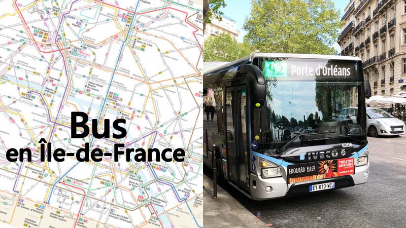 paris bus route line91 line96