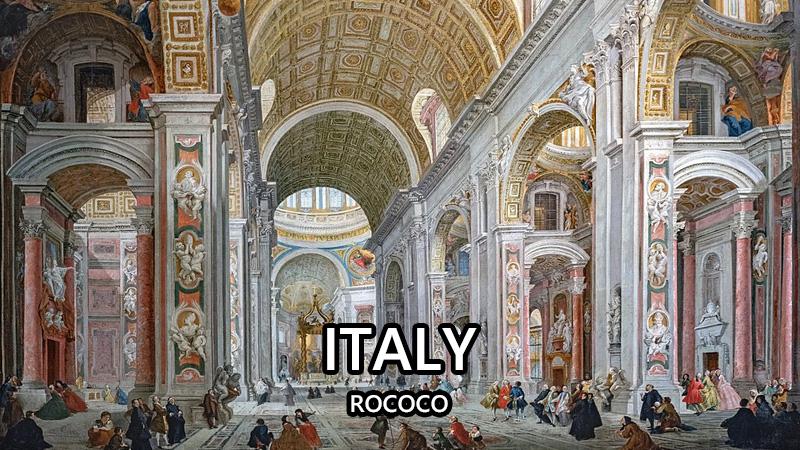 イタリア ロココ