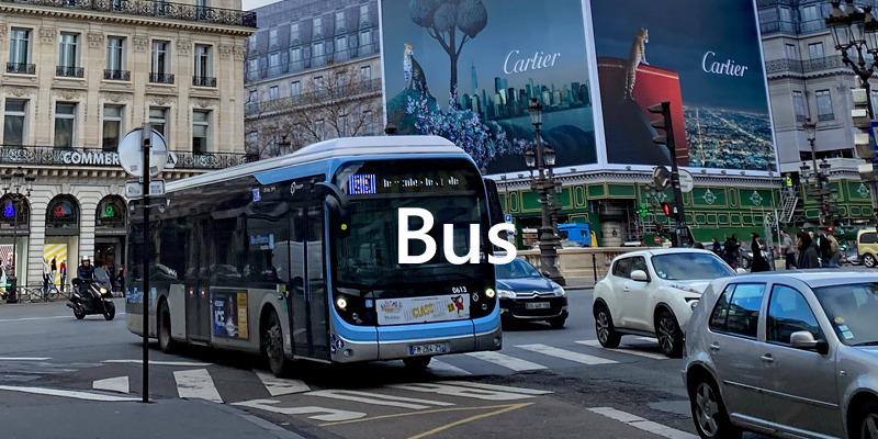 フランス パリ バス情報