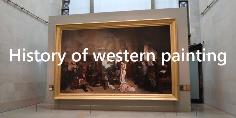西洋絵画史 人物相関図 ルネサンスから現代まで