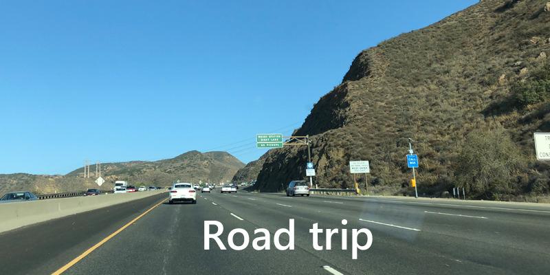 ロサンゼルス ドライブルート